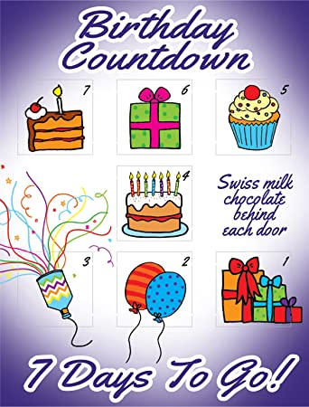 Amazon Birthday Countdown