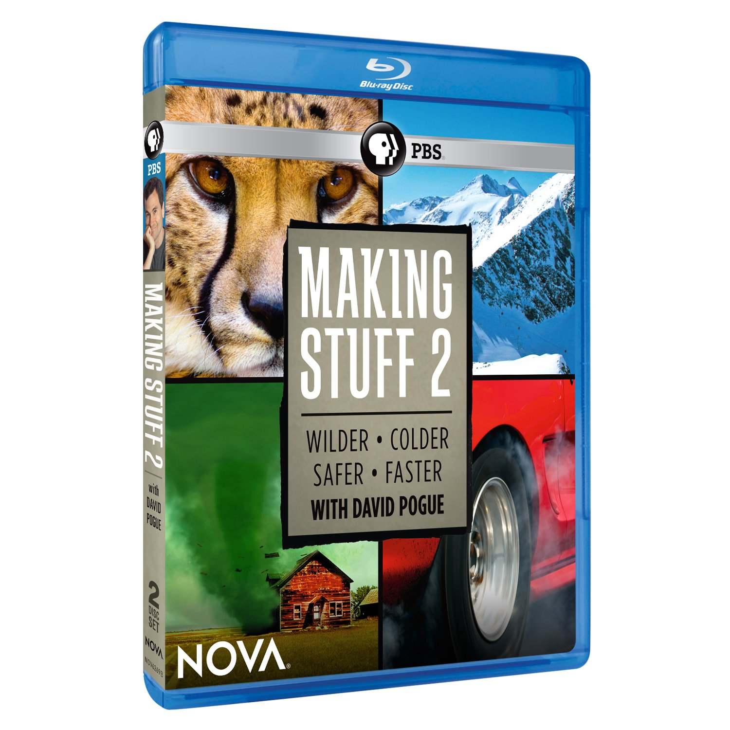 Blu-ray : Nova: Making Stuff 2 (2PC)