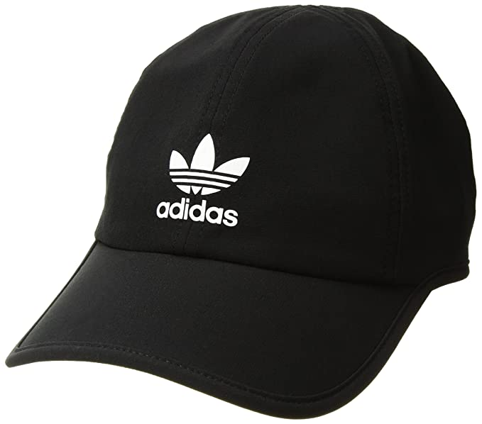 5d567083 adidas Women's Originals Trainer II Relaxed Cap, Black/White, One Size