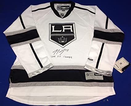 the best attitude 28f09 3fc03 Tyler Toffoli Signed LA Kings Reebok Jersey
