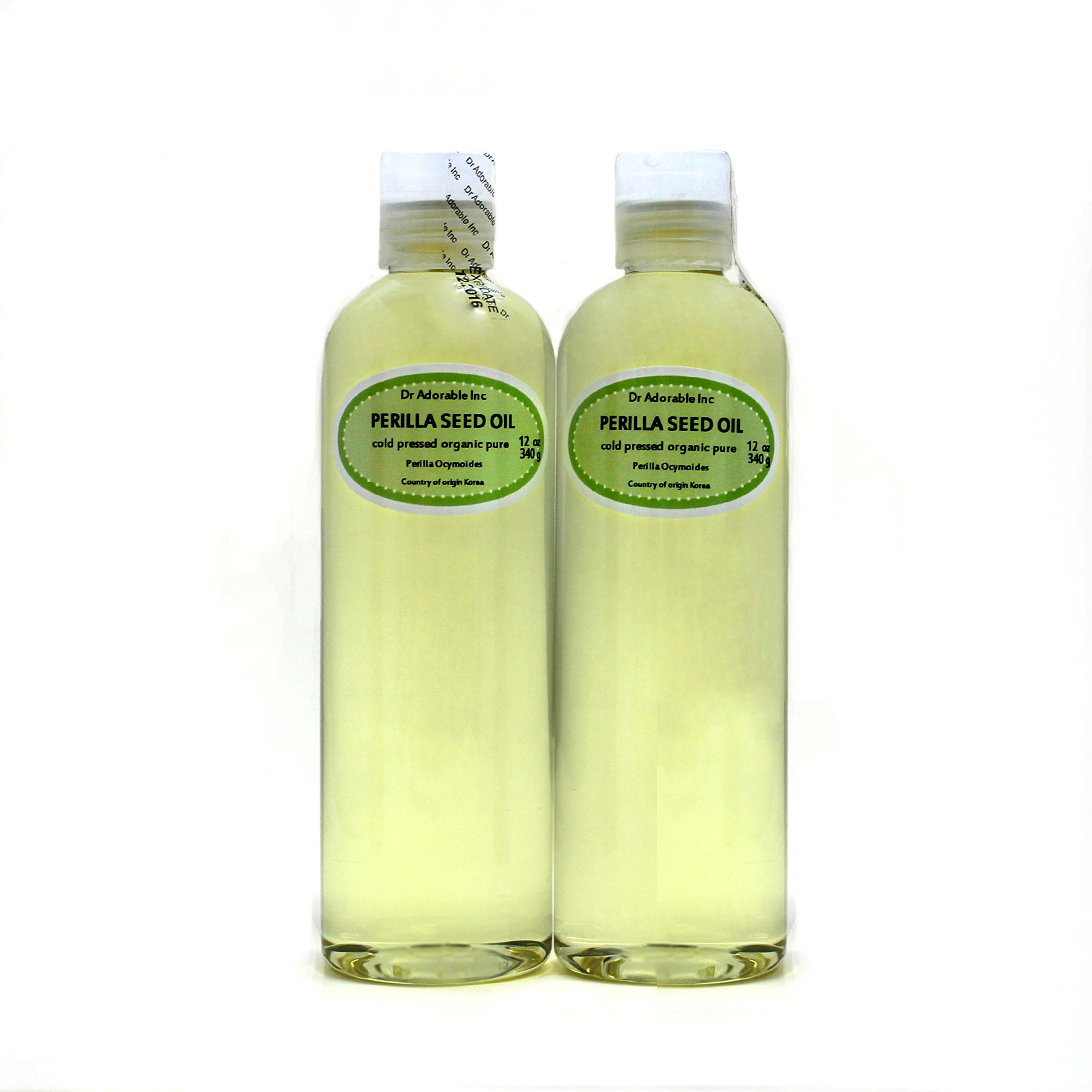 Perilla Seed Oil Oil Pure Cold Pressed Organic 24 Oz
