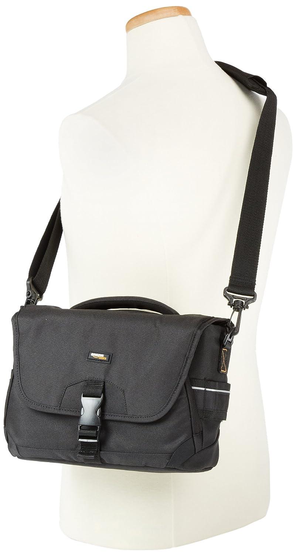 Basics Medium DSLR Camera Gadget Bag 12 x 5 x 8 Inches Black and Orange