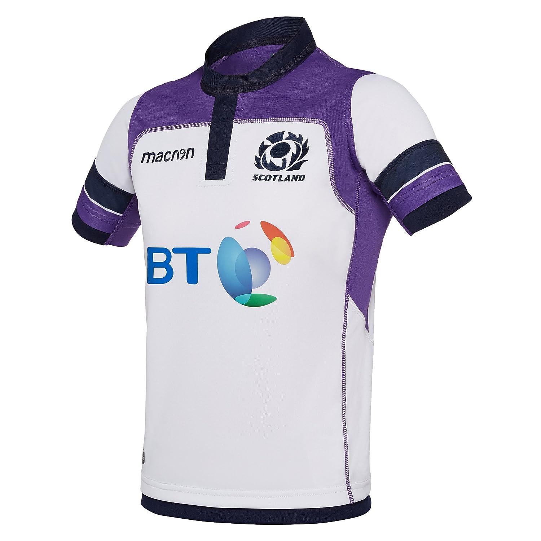 camiseta replica segunda equipación niño escocia rugby 2017/18 ...
