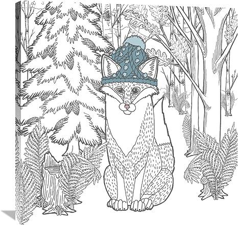 Global Gallery Elyse Deneige Forest Color Iv Canvas Artwork 36 X 36 Posters Prints