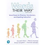 Words Their Way: Word Study for Phonics, Vocabulary and Spelling Instruction