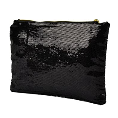 Clothes, Shoes & Accessories Ladies Party Black Silver Gold Sequin Glitter Bling Evening Clutch Bag Handbag