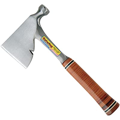 """Estwing MFG Co E2H Carpenter's Hatchet Leather Grip 3-5/8"""": Home Improvement"""