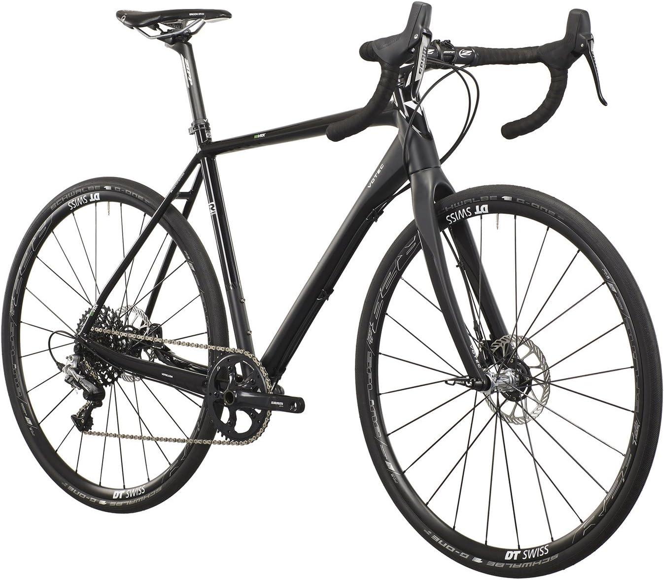 VOTEC VRX-G Pro - Gravel Bike - black matt/black glossy Tamaño del cuadro 48 cm 2016 Bicicletas ciclocross: Amazon.es: Deportes y aire libre