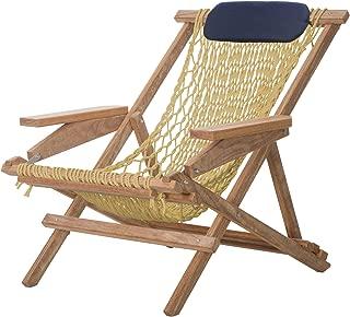 product image for Nags Head Hammocks Cumaru Captain's Chair, Tan DuraCord