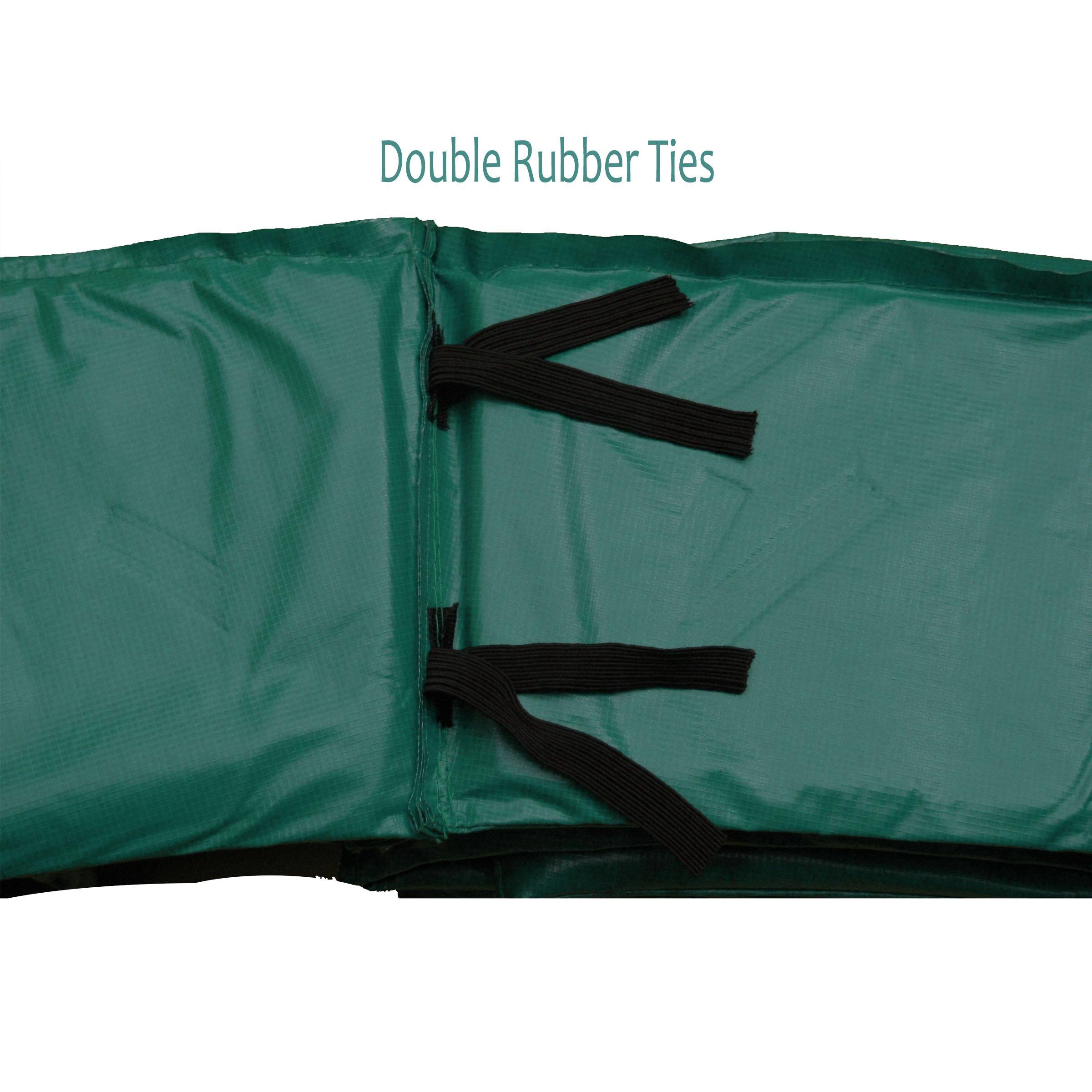 Upper Bounce Super Trampoline Jumping Mat & Green Pad Combo (Various Sizes)