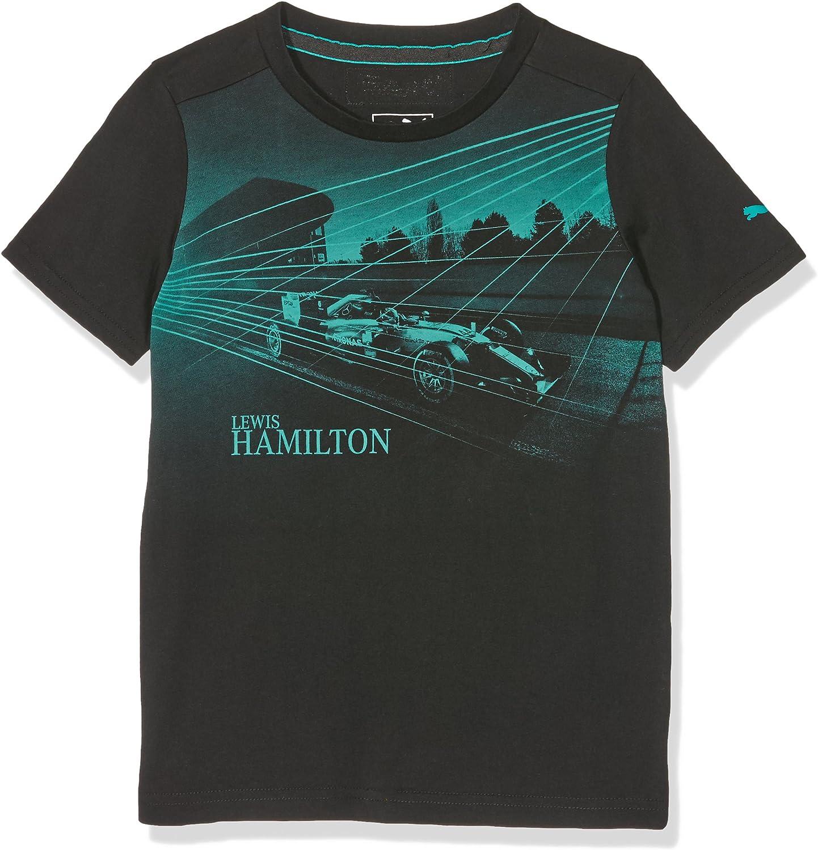 57127605 Mercedes AMG Hamilton Kids Car t/é Black f/órmula 1