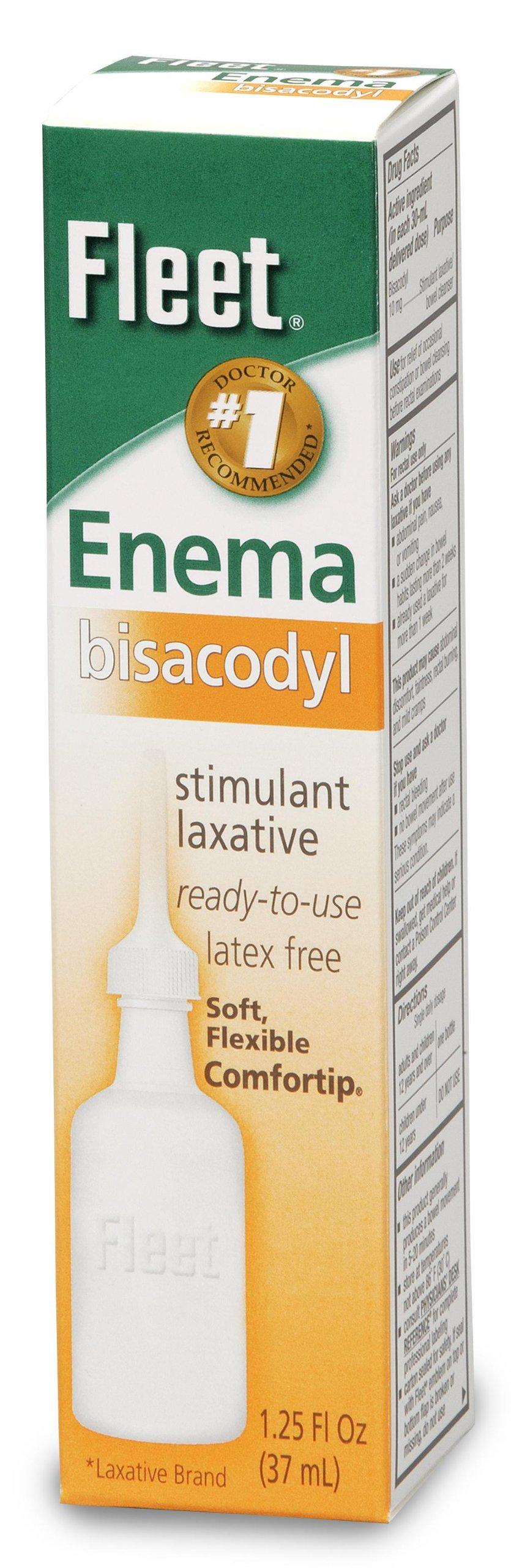 Bisacodyl Enema Case of 24 by Fleet Laboratories