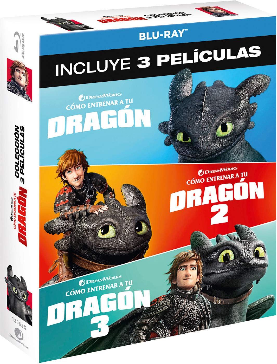 Pack como entrenar a tu dragon 1-3