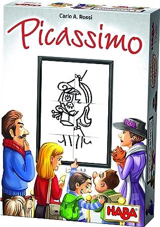 HABA- Picassimo, Juego de Mesa (302736): Amazon.es: Juguetes y juegos