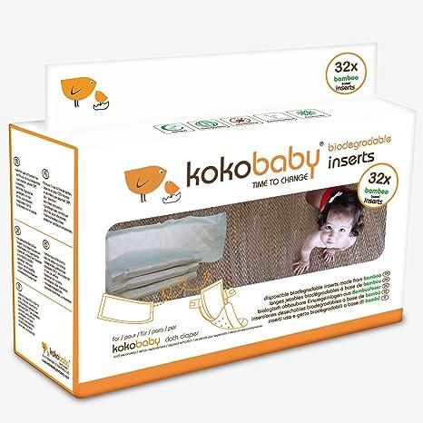 KokoBaby- Inserciones desechables biodegradables hechos de bambú ...