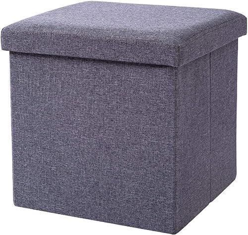 FHSQX Folding Storage Ottoman Cube