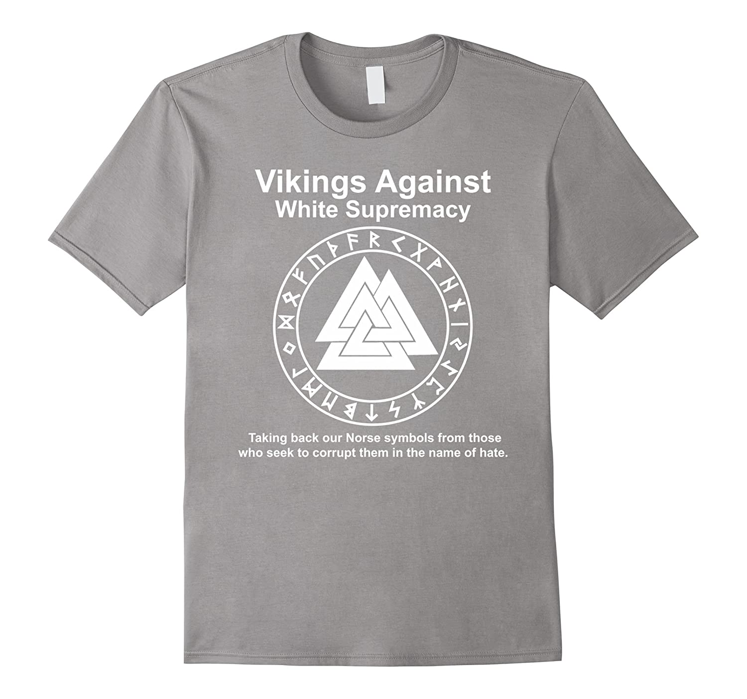 VIKINGS AGAINST WHITE SUPREMACY SHIRT-CL