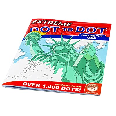 Extreme Dot to Dot Around The USA Puzzle: Koehler, Dave, Turner, Adam: Toys & Games