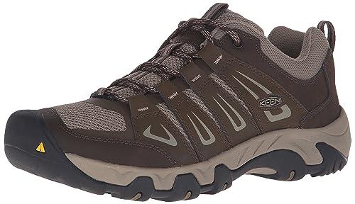 Oakridge, Zapatos de Low Rise Senderismo para Hombre, Marrón (Cascade/Brindle), 44.5 EU Keen