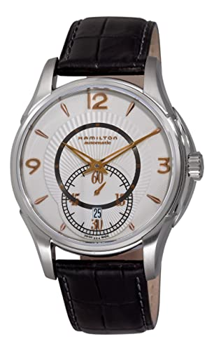 Hamilton Men s H32555755 Jazzmaster Viewmatic Silver Small Second Subdial Watch
