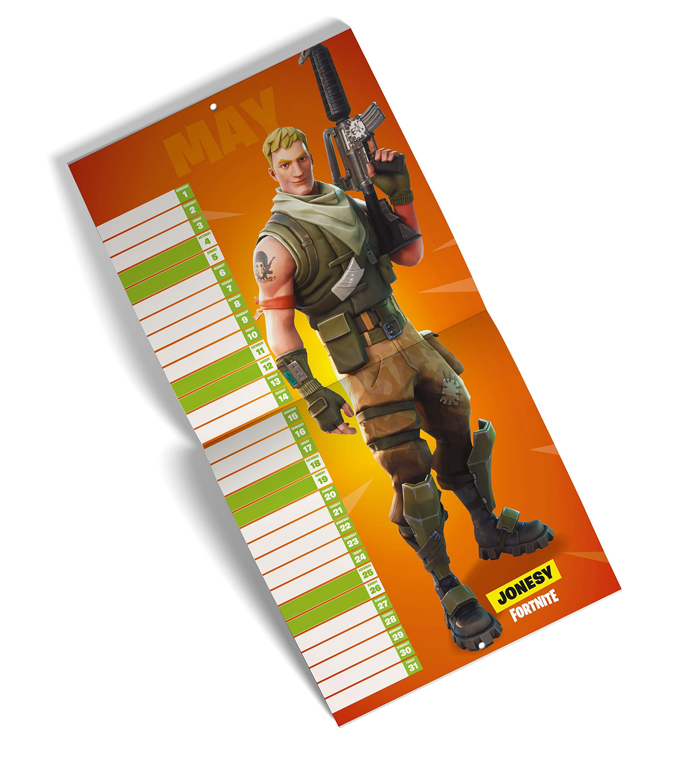 Fortnite (Official): 2019 Calendar: Amazon.es: Epic Games ...