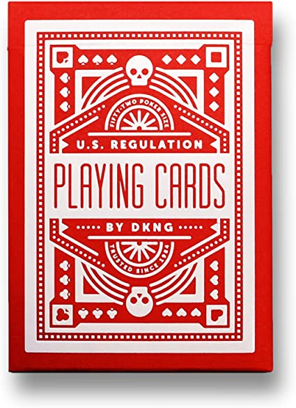 DKNG Black Wheel Playing Cards by Art of Play