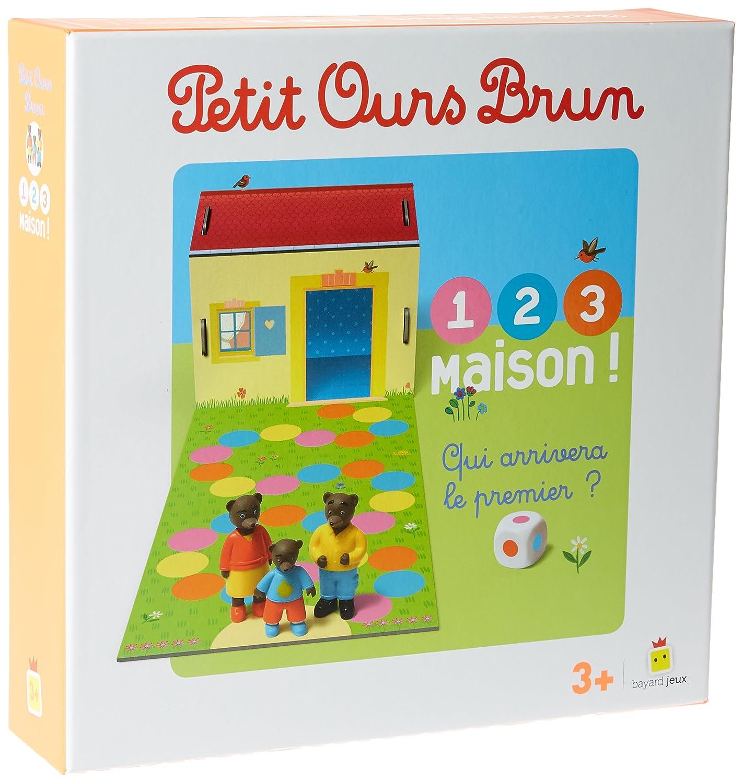 Jeu Petit Ours Brun - 1,2,3, Maison !