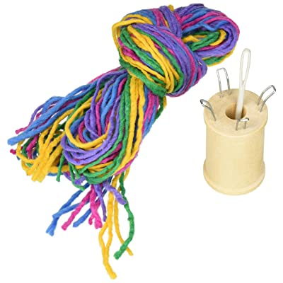 Harrisville Designs F608 Traditional Spool Knitting Kit, Weaving for Beginners, Kids and Adults: Toys & Games
