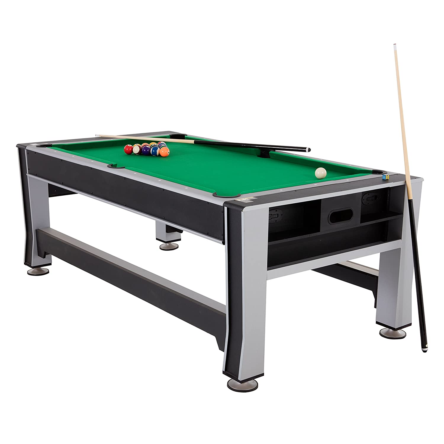 Amazoncom Triumph In Swivel Multigame Table Sports Outdoors - 84 pool table