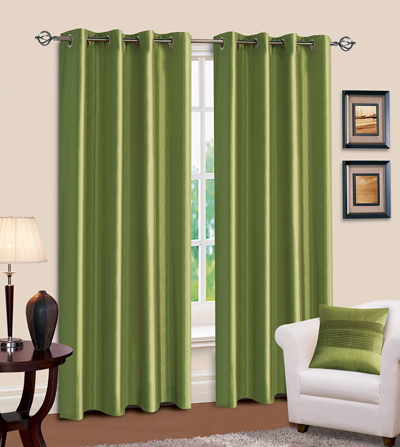 green curtains for living room lime green and brown eyelet curtains curtain menzilperde net 18580