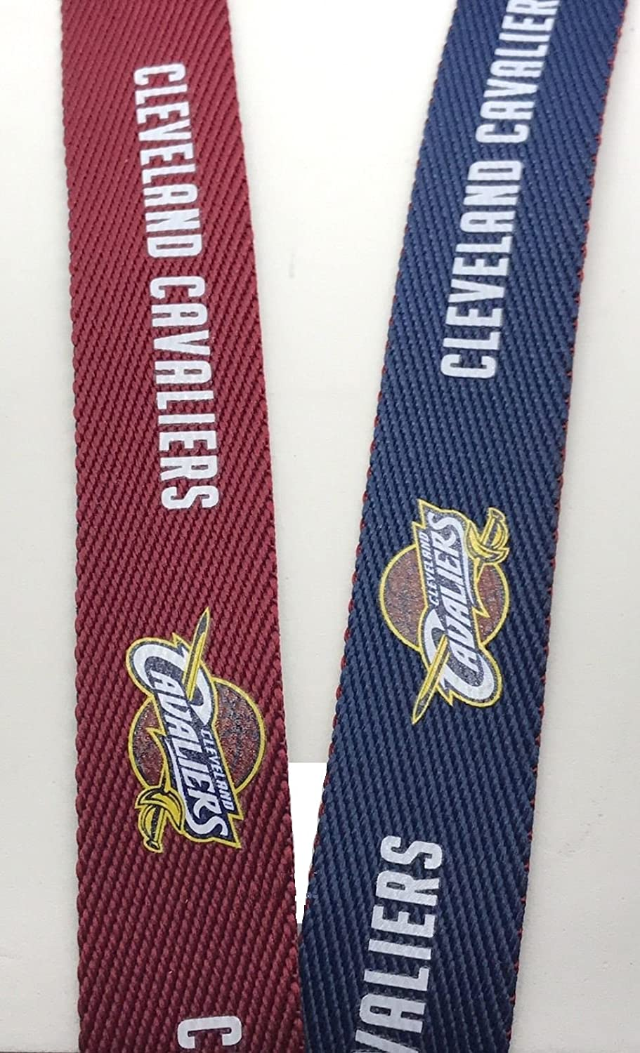 NBA Two-Tone Lanyard with Detachable Key Ring and breakaway safety closure