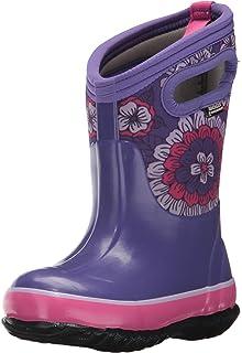 77ea72532 Bogs Kids' Classic High Waterproof Insulated Rubber Neoprene Rain Boot Snow