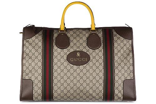 Gucci bolso de viaje con bandolera nuevo soft GG supreme beige