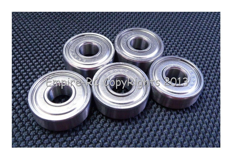 7x14x5 mm 440c Stainless Steel Metal Ball Bearing 5 PCS S687zz 687zz