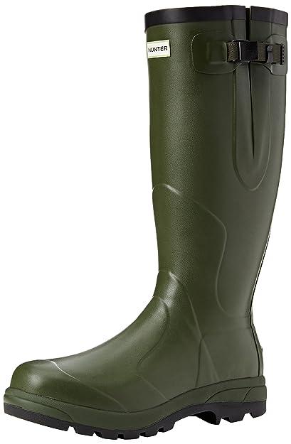 Hunter Men's Balmoral Classic Wellies Dark Olive W23600