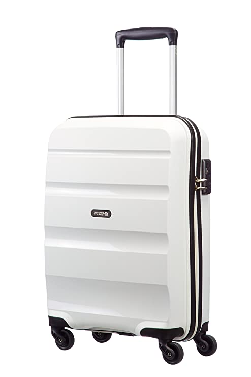 501bf0ee98a22f American Tourister Bon Air, Bagaglio a Mano Unisex, Bianco (White), 31.5