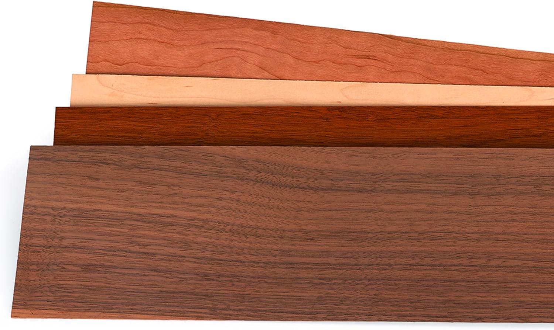 "45"" X 12"" 1//16"" Thick 15 Sq Ft 4 Sheets Walnut Wood Veneer"