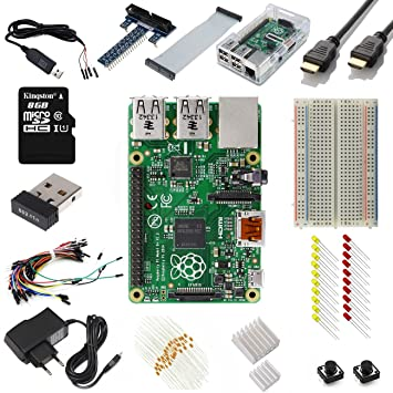 Raspberry Pi Model B+ Ultimate Starter Kit Includes over 40 Components 9daaa8361da3