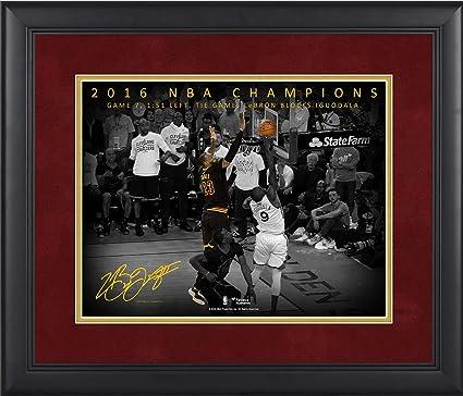fec3c09a3bb LeBron James Cleveland Cavaliers Framed 11