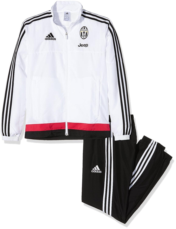 adidas Juve PRES - Chándal para Hombre, Color Blanco/Negro/Rosa ...