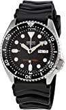 Seiko Men's Analogue Quartz Watch with Rubber Strap – SKX007K