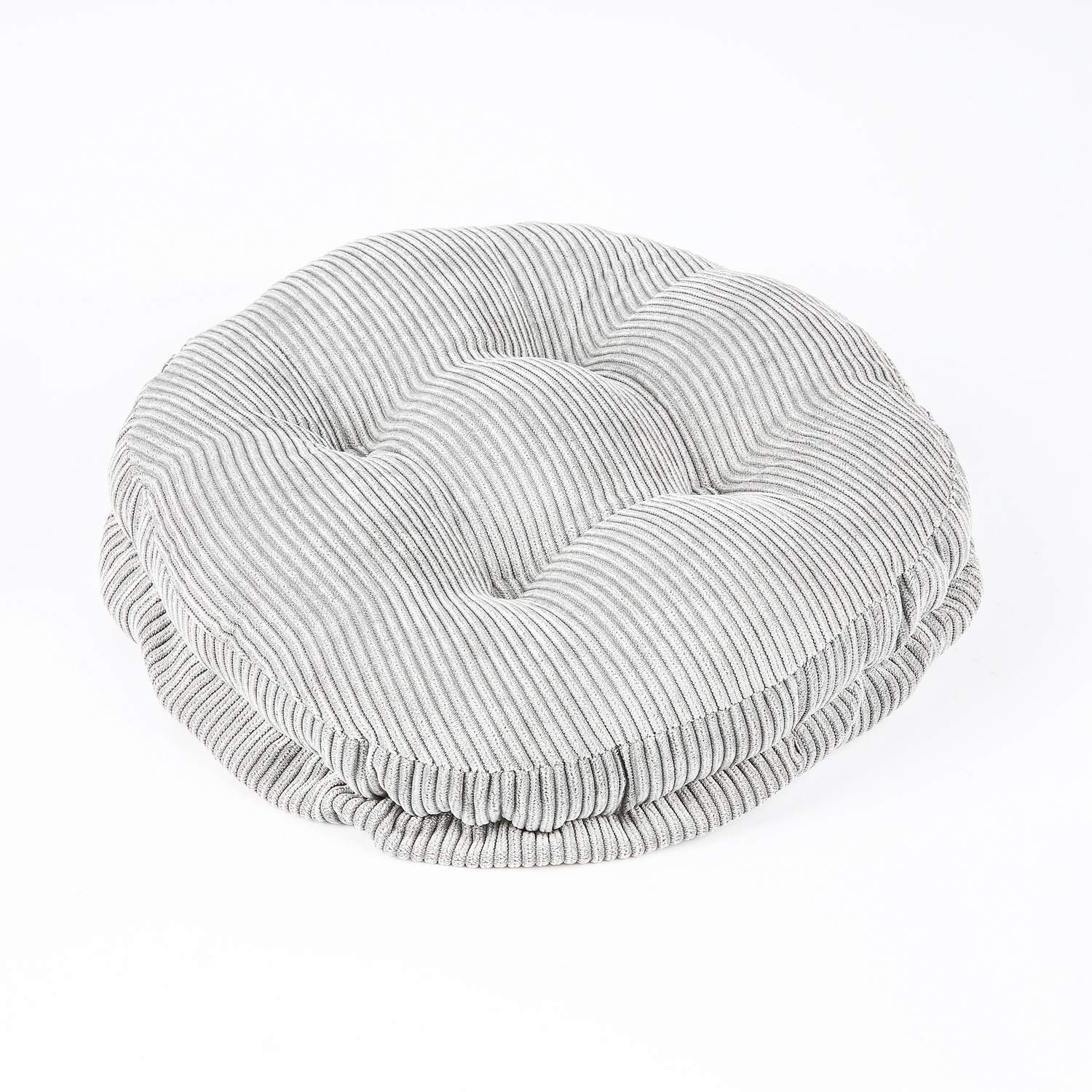 """NuvoLe Home 12"""" Round Bar Stool Cushion Elastic, Padded to Give your old stool a New Looking, Machine Washable"""