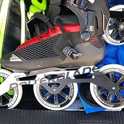 Amazon Com Customer Reviews Rollerblade Endurace Pro 125 Unisex Adult Fitness Inline Skate Black And Red Premium Inline Skates