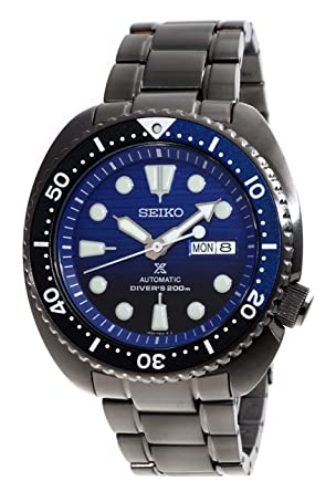 2f99d4bb21d SEIKO PROSPEX quot Turtle quot  Save The Ocean Diver s 200M Automatic Black  IP Watch ...