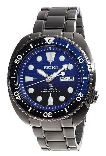SEIKO PROSPEX Turtle Save The Ocean Divers 200M SRPD11K1 - Reloj IP automático (Esfera Azul