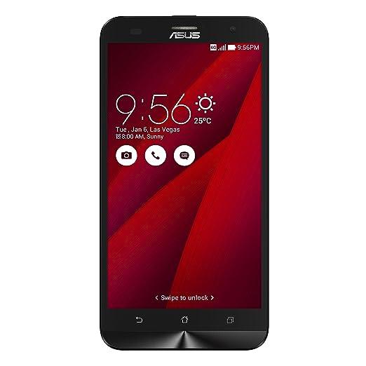 """528 opinioni per Asus ZenFone 2 Laser 5.5"""" Smartphone, 16 GB, Dual SIM, Rosso [Italia]"""