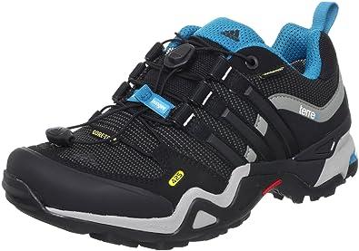 sports shoes 694cc 4a455 Adidas Damenschuhe NEW TERREX FAST X GTX SOLID GRAU BLACK1 VIVID TEAL