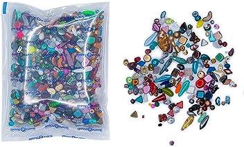 Preciosa Ornela Traditional Czech Glass Crow Roller 50-Piece Beads 9mm Transparent Medium Aqua