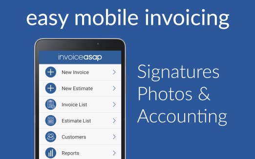 Amazoncom Invoice ASAP For QuickBooks And Payments Appstore For - Invoice asap android