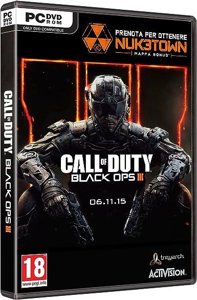 Activision Call of Duty: Black Ops 3, PC - Juego (PC, PC, FPS (Disparos en primera persona), M (Maduro)): Amazon.es: Videojuegos